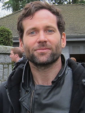 Eion Bailey - Bailey filming in January 2012