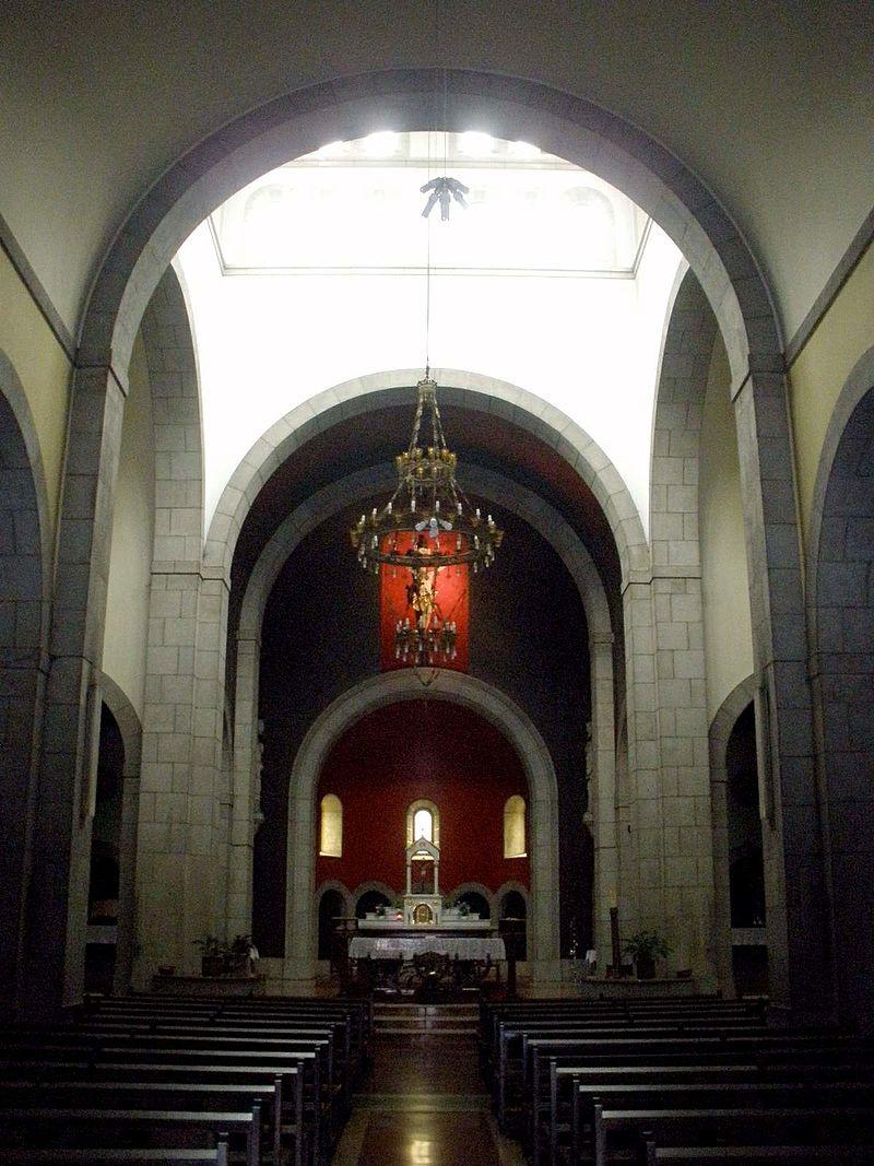 El Entrego (San Martín del Rey Aurelio) - Iglesia de San Andres 08.jpg