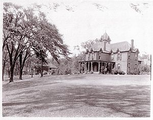 "Elbridge G. Spaulding - ""River Lawn"" estate on Grand Island, New York"