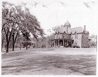 "Elbridge G. Spaulding - ""River Lawn"" estate on Grand Island, New York"