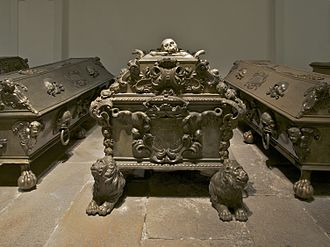 Eleanor of Austria, Queen of Poland - Sarcophagus of Eleanor of Austria, Kapuzinergruft, Vienna, Austria