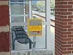 Emergency call box at 5600 W Old Bingham Hwy station, Apr 16.jpg