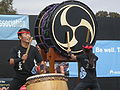Emeryville Taiko performing at 2008 SFIDBF 05.JPG