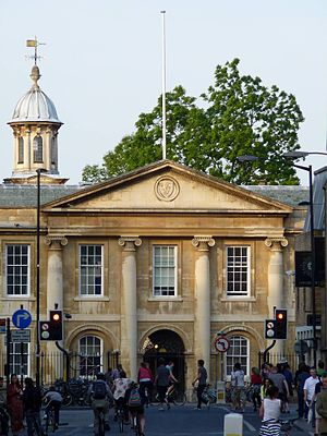 Downing Street, Cambridge - Front facade of Emmanuel College, Cambridge viewed from Downing Street.