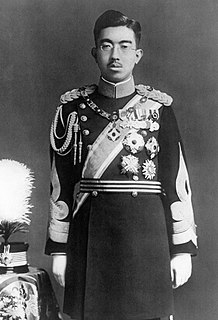 Hirohito Emperor of Japan from 1926 to 1989