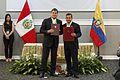 Encuentro Presidencial y VII Reunión del Gabinete Binacional de Ministros Ecuador-Perú (10861863893).jpg