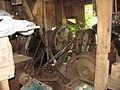 Engenho do Aubim engrenagens da roda d'água.JPG