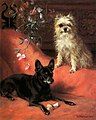 English Toy Terrier and Affenpinscher by Frances C. Fairman.jpg