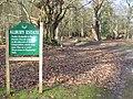 Entering Albury Park - geograph.org.uk - 669411.jpg