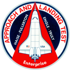 Enterprise separates from the SCA on its first solo flight as part of ALT