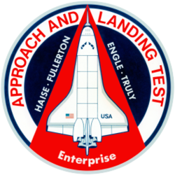 Enterprise 1977 Approach and Landing Test mission patch.png
