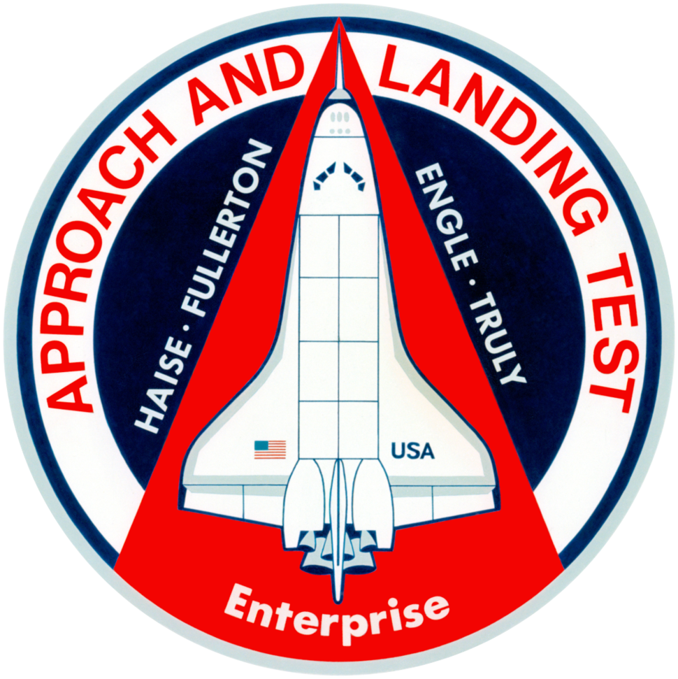Enterprise 1977 Approach and Landing Test mission patch