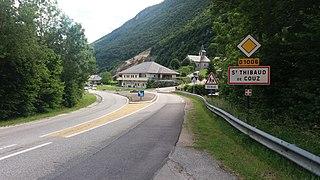 Saint-Thibaud-de-Couz Commune in Auvergne-Rhône-Alpes, France