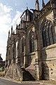 Entrée sud de l'église Saint-Jacques (Lisieux, Calvados, France).jpg