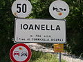 Entrance sign to Ioanella-July 2007.JPG