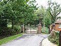 Entrance to Warbrook House and public footpath - geograph.org.uk - 1467011.jpg