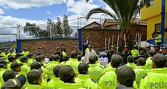 Entrega de obra del santuario de la Virgen de La O de Morcá en Sogamoso (14222180411).jpg