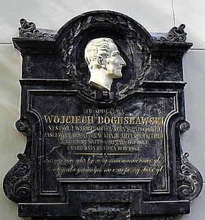 Wojciech Bogusławski - Powązki Cemetery