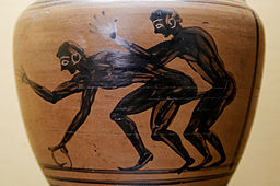 256px-Erotic_scene_MAN_Napoli_Inv27670 The History of Homosexuality: Ancient Greece