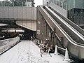 Escalator in snowy Roppomgi Hills.jpg