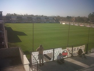 Estadio José Manuel Moreno - View from the local stand.