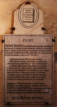 Etienne Bezout plaque.jpg
