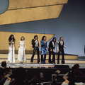 Eurovision Song Contest 1976 rehearsals - Germany - Les Humphries Singers 7.png