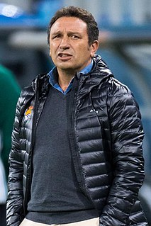 Eusebio Sacristán Spanish football player/manager