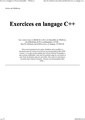 Exercices en langage C++-fr.pdf