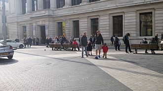 "Shared space - Exhibition Road, London, ""shared space"""