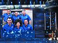 Expedition 27 crew in a gala ceremony marking the 50th anniversary of the launch of Yuri Gagarin.jpg