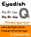 Eyadish-font-plain 1000.png