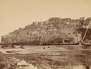 Félix Bonfils (French) - Jaffa, Vue Générale Prise de la Mer - Palestine - Google Art Project
