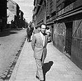 Férfi portré 1947, Budapest. Fortepan 54166.jpg
