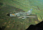 F-86Ls RThaiAF in flight 1966