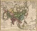 F. L. Güssefeld, Map of Asia, 1805.jpg