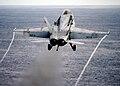 FA-18C launch, USS Abraham Lincoln (CVN 72)- 081205-N-5386R-007.jpg