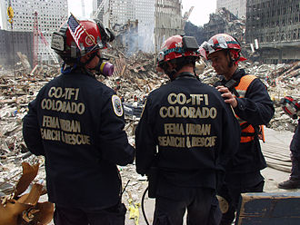 FEMA Urban Search and Rescue Task Force - Image: FEMA Colorado Task Force at WTC