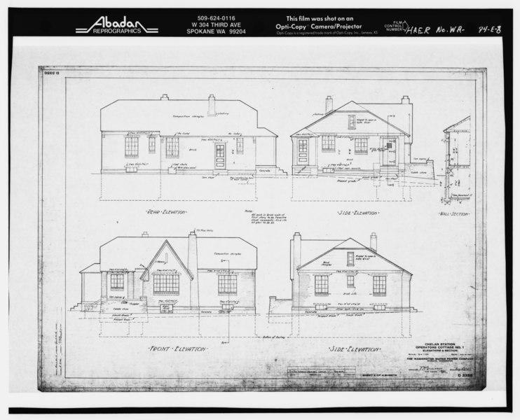 File floor plan operator 39 s cottage no 1 blueprint for Floor operator