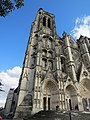 Façade occidentale cathédrale Saint-Étienne Bourges 05.jpg