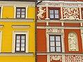 Facade in Rynek (Market Square) - Zamosc - Poland (9218645446).jpg