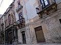 Facciata di Palazzo Sanseverino (già Fardella), vista da via Libertà (già via Gallo).jpg