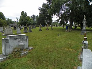 National Register of Historic Places listings in Davidson County, North Carolina - Image: Fair Grove Methodist Church Cemetery