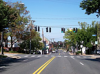 Fairfax, Virginia - Downtown Fairfax