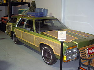 The Family Truckster from the 1983 movie Natio...