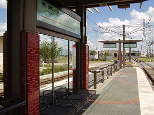 Fannin South (METRORail station) - Fannin South Station