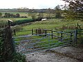 Farmland Gate - geograph.org.uk - 628161.jpg