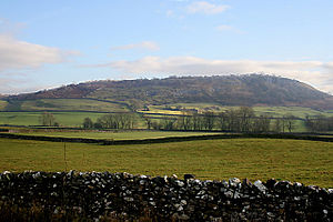 Farmland near Wharfe, Yorkshire Dales National...