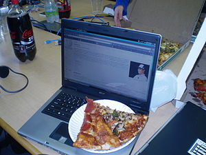 San Francisco Wikipedia Meetup. Image of my la...