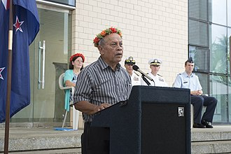 Vice President of the Federated States of Micronesia - Image: Federated States of Micronesia Opening Ceremony 150622 N MK341 013